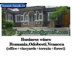 Anunturi Imobiliare Afaceri sanatoase:vini-viticultura,agric.padure-VN