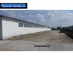 Anunturi Imobiliare HALE DE DEPOZITARE SAU PRODUCTIE 0.50 €/m2