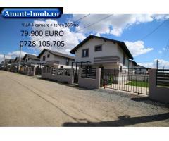 Anunturi Imobiliare Vila 4 camera cu teren de 350m in Comuna Berceni