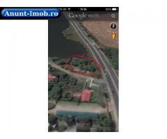 Anunturi Imobiliare teren situat pe malul lacului saftica, dn1