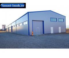 Anunturi Imobiliare Hala industriala noua 1250 m2 ,teren 6500 m2 ,