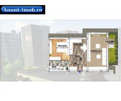 Anunturi Imobiliare Apartament 2 camere – 68,64 mp, Parter