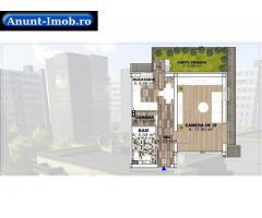 Anunturi Imobiliare Apartament 1 cameră – 46,21 mp, Parter