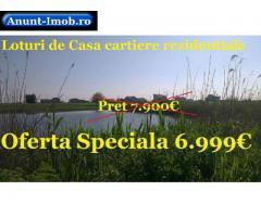 Oferta Speciala 6.999€ Teren de casa zona lacuri Berceni