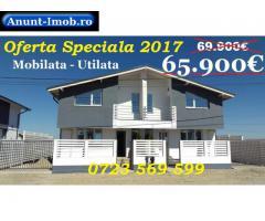 Anunturi Imobiliare Dezvoltator - Vila 3 camere 2017 mobilata si utilata modern