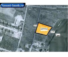 Anunturi Imobiliare Teren de vanzare in Mogosoaia cu deschidere la lac