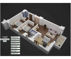 Vand Apartament 3 camere Tineretului-Vacaresti