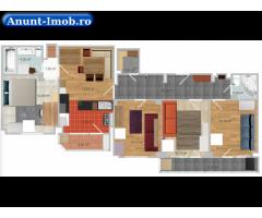 Apartament mobilat, 89 metri patrati (Tineretului)