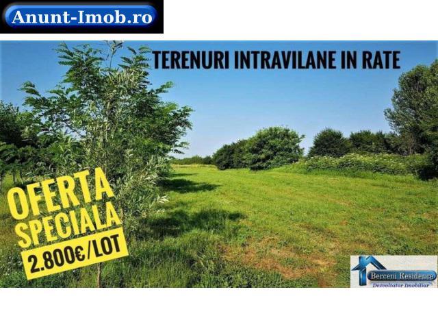 Anunturi Imobiliare Super IEFTIN - 2.800€/lot Teren Intravilan in 12 RATE Vidra
