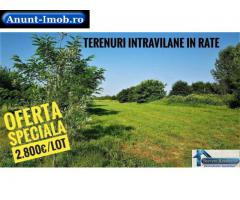 Super IEFTIN - 2.800€/lot Teren Intravilan in 12 RATE Vidra