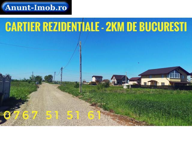 Anunturi Imobiliare PROMO Terenuri in Rate Cartier Nou Berceni 1.8km Bucuresti