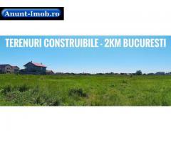 Anunturi Imobiliare Terenuri in RATE la 2km de Bucuresti 9.600€