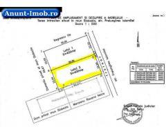 Anunturi Imobiliare 2 locuri de casa intravilan Slobozia (400mp si 350mp)