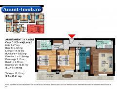 Anunturi Imobiliare Apartament 3 Camere Dimitrie Leonida (Popesti Leordeni)