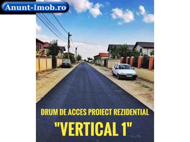 Anunturi Imobiliare Teren 408mp in Comuna Berceni in spatele Primariei