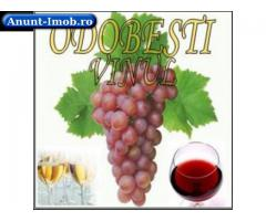 Vinuri nobile:alb+negru=3 Ron/L-din Odobesti:0745145447.