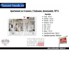 Anunturi Imobiliare Ansamblu Rezidential, 89 mp utili, decomandat, finalizare M