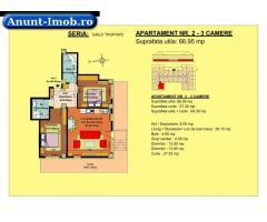 Anunturi Imobiliare Apartament 3 camere, parter, zona Tractorul-Brasov