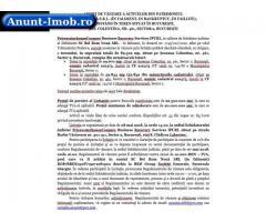Anunturi Imobiliare VÂNZARE A ACTIVELOR BEL ROM NOUĂ