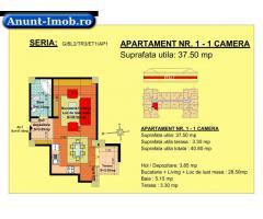 Anunturi Imobiliare Garsoniera, etaj 1, zona Tractorul-Brasov