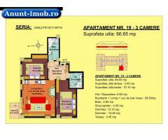 Anunturi Imobiliare Apartament 3 camere,  zona Tractorul-Brasov