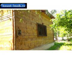Anunturi Imobiliare Vand cabana din lemn  localitatea Baratca județul Arad
