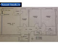 Anunturi Imobiliare Ultracentral, Republicii, Cuza Voda, 3 camere decomandat
