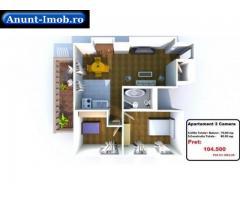 Anunturi Imobiliare 3 camere super pret cu reducere 88.825 EUR