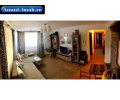 Apartament 3 cam utilat, in bloc cu curte, zona linistita