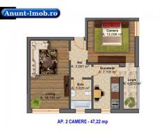 Anunturi Imobiliare 2 camere pret promotional zona linistita