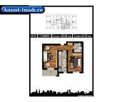 Apartament 2 camere, decomandat, 51 mpu, MILITARI REZERVELOR