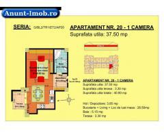 Anunturi Imobiliare garsoniera, str Nicolae Labis nr 52- pret: 32800 Euro, 37.50