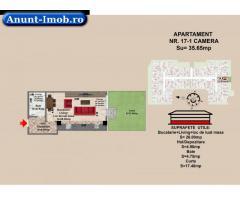 1 camere, str Nicolae Labis nr 52- prêt 29837,5  35.65 mp