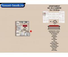 apartament 2 camere, str Nicolae Labis nr 52- prêt 42865,5