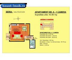 Anunturi Imobiliare garsoniera, str Nicolae Labis nr 52- pret: 37520 Euro, 43.90