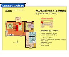 Anunturi Imobiliare 2 camere, str Nicolae Labis nr 52- pret: 52480 Euro, 62.60 m