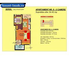 Anunturi Imobiliare 2 camere, str Nicolae Labis nr 52- pret: 45960 Euro, 54.4