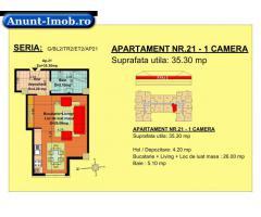 Anunturi Imobiliare garsoniera, str Nicolae Labis nr 52- pret: 27225 Euro, 35.30