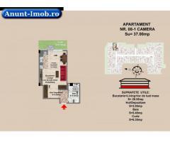 garsoniera, str Nicolae Labis nr 52- prêt 36625 Euro,  37 mp