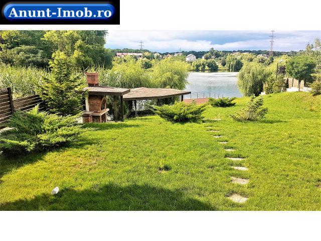 Anunturi Imobiliare Casa noua cu deschidere la lac si teren 1000 mp Balotesti