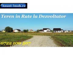 Anunturi Imobiliare Teren in Rate la 2 km Bucuresti