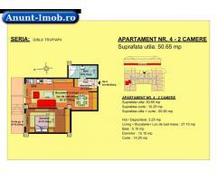 Anunturi Imobiliare 2 camere, str Nicolae Labis nr 52- pret: 47135 Euro, 50.65 m