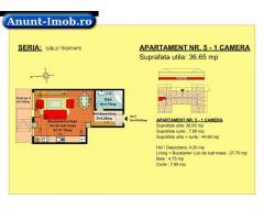 Anunturi Imobiliare garsoniera, str Nicolae Labis nr 52- pret: 36460 Euro, 36.65