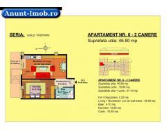 Anunturi Imobiliare 2 camere, str Nicolae Labis nr 52- pret: 43870 Euro, 46.90 m