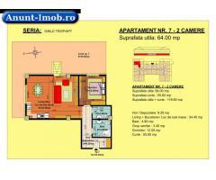 Anunturi Imobiliare 2 camere, str Nicolae Labis nr 52- pret: 68220 Euro, 64 mp