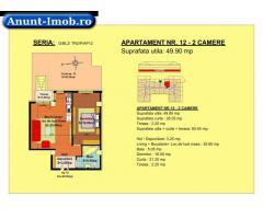 Anunturi Imobiliare 2 camere, str Nicolae Labis nr 52- pret: 50080 Euro, 49.90 m