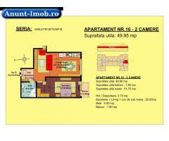 2 camere, str Nicolae Labis nr 52- pret: 44455 Euro, 49.95 m