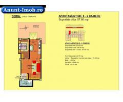 Anunturi Imobiliare 2 camere, str Nicolae Labis nr 52- pret: 57230Euro, 57.60 mp