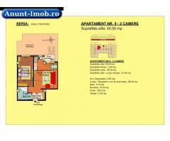 Anunturi Imobiliare 2 camere, str Nicolae Labis nr 52- pret: 50340 Euro, 50 mp