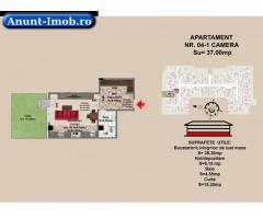 Anunturi Imobiliare garsoniera, str Nicolae Labis nr 52- prêt 35900  Euro,  37 m